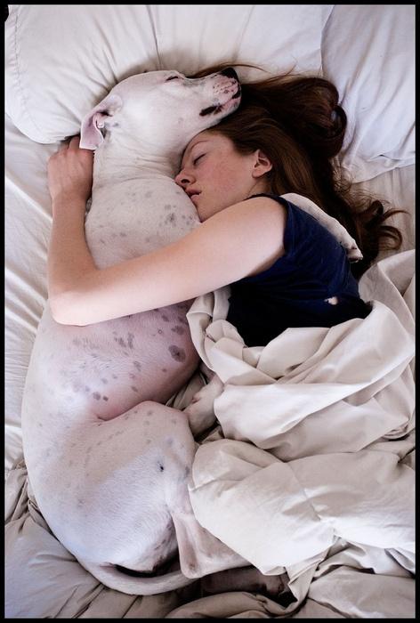 Enorme chica cubby durmiendo