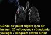 sigara i�enlerin biran �nce akci�er kanseri olmas�