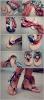 Вьетнамки превращаются в креативные сандалии. .  Переделки своими рукам Переделкино. .  Постила.