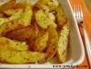 baharatlarla terbiye edilmi� f�r�nda patates