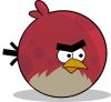 angry birds teki b�y�k k�rm�z� ku�