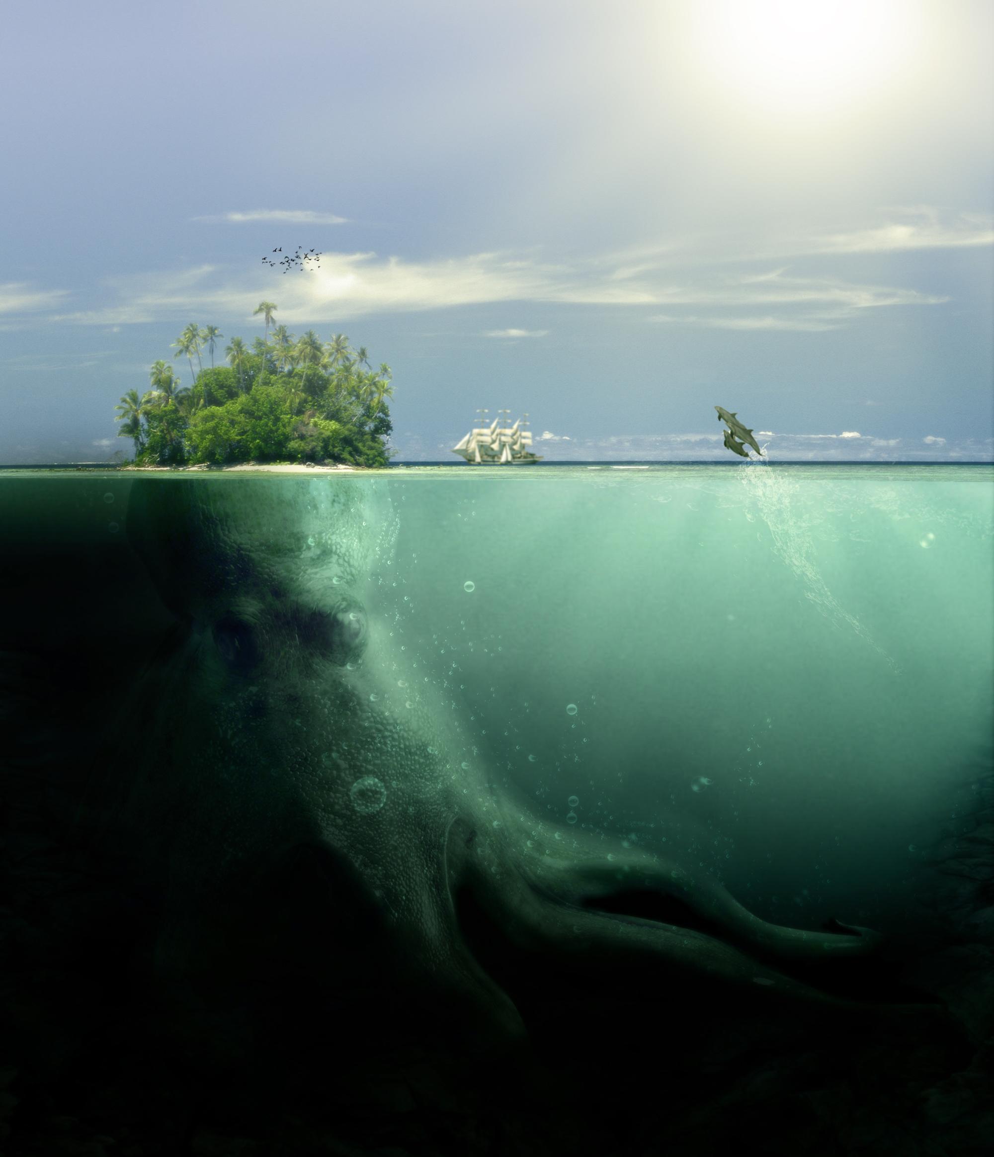 Спокойна глубина моего моря: никто и не догадывается о том, какие забавные чудовища скрывает...