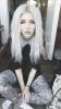 saçları beyaza boyatmak