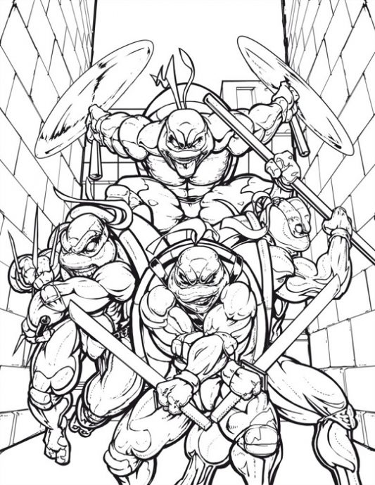 Teenage Mutant Ninja Turtles Sayfa 18 Uludağ Sözlük
