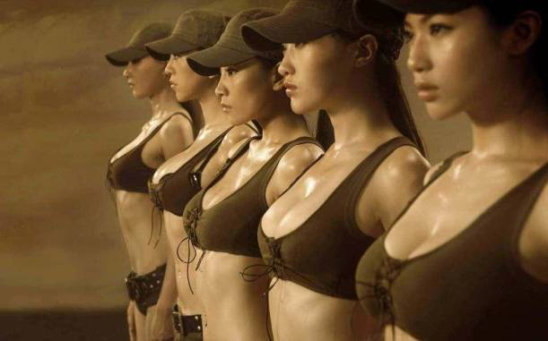 kadın asker - uludağ sözlük