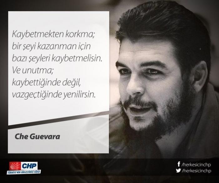 Kemal Kılıçdaroğlu Nun Che Guevara Sözü Paylaşması Uludağ Sözlük