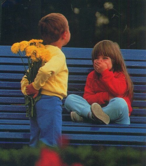 sevgiliye çiçek almak