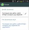 yazarların whatsapp durumları