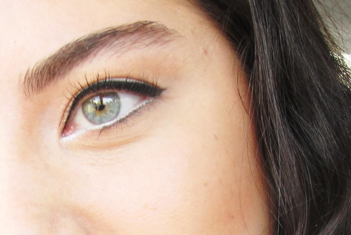 Beyaz göz kalemi nasıl sürülür