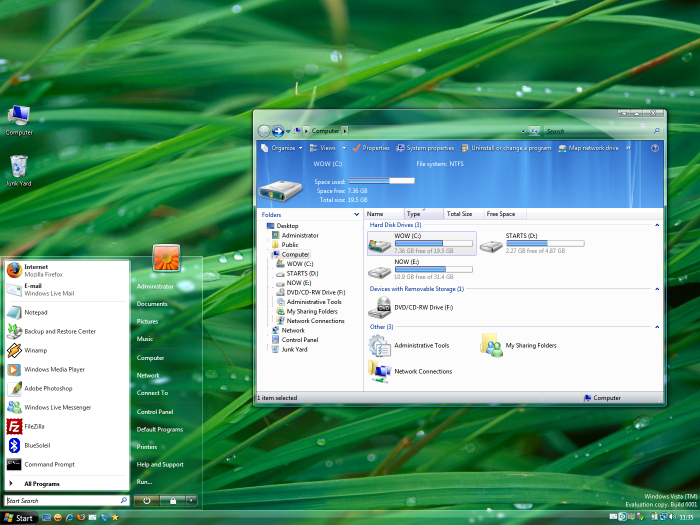 windows vista resim 2